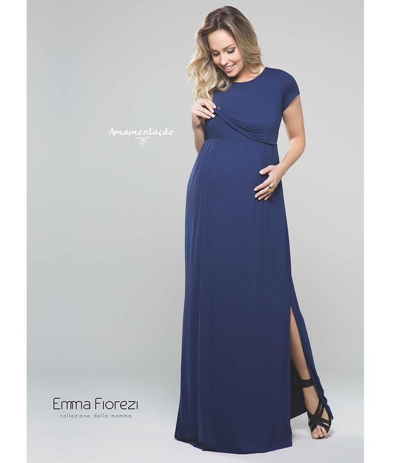 8ee61c14f Vestido Longo para Amamentar - Belly Home - Loja Online