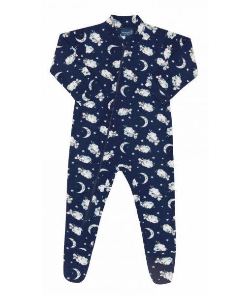 Pijama Macacão Carneirinhos