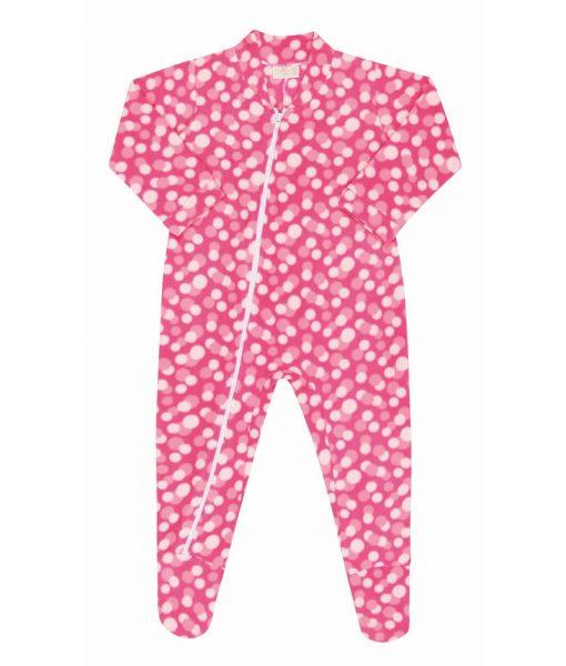 Pijama Macacão Bolinhas