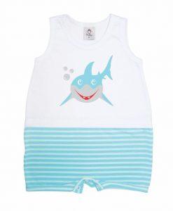 Macacão Banho de Sol Tubarão