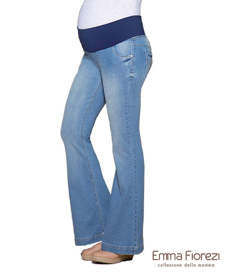 968efbfd760a48 Calça Flare com Pespontos Finos - Belly Home - Loja Online