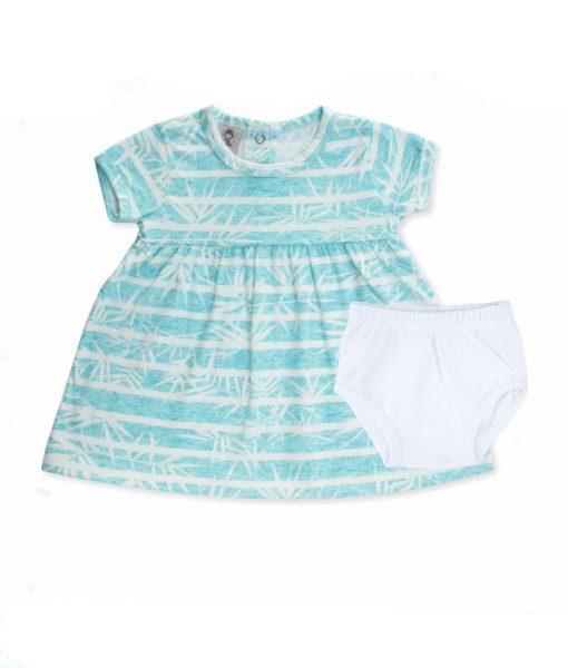 Vestido para menina bebê
