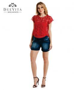 Shorts jeans gestante