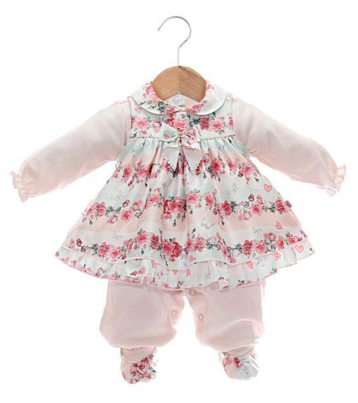 macacão/vestido bebê menina