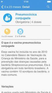 Aplicativo Vacinas em dia 3