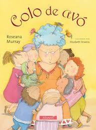 Livro Infantil Colo de Avó