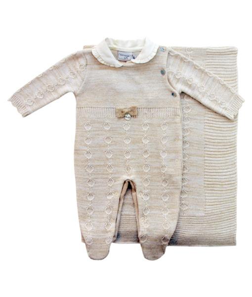 Kit Maternidade Tricot Jacquard com Fio Lurex - Belly Home - Loja Online 815e80a35c8