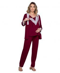 Pijama para gestante