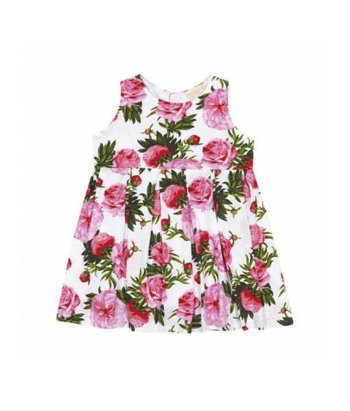 moda-bebê-vestido-floral-rosas