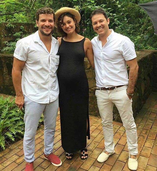 Look grávida famosa Sophie Charlotte