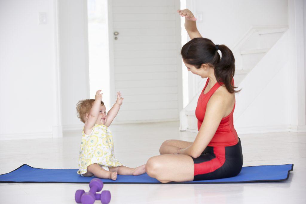 Exercícios no pós-parto