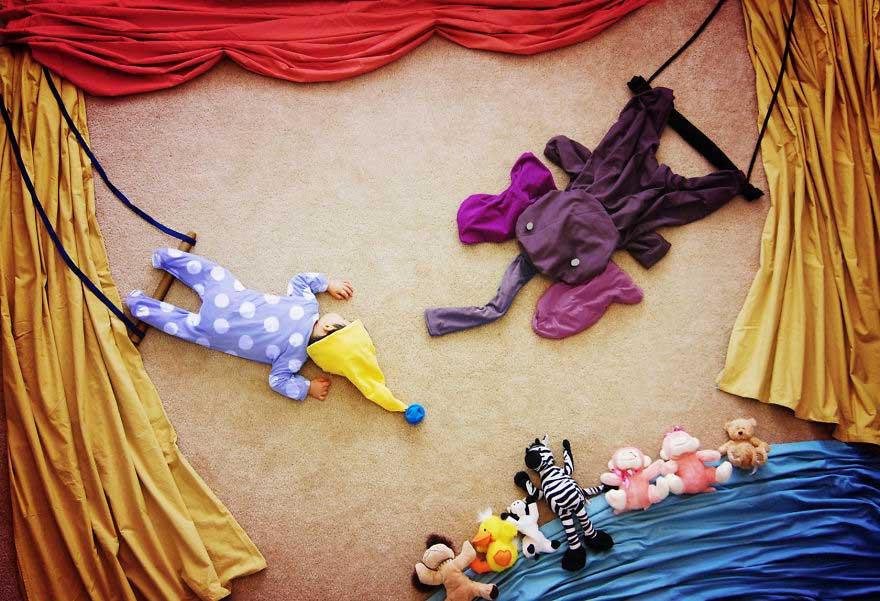 Fotos de bebês criativas