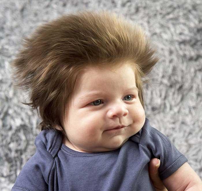 Bebê mais cabeludo do mundo