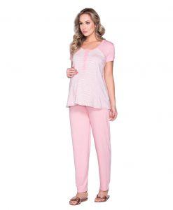 Pijama bata listra