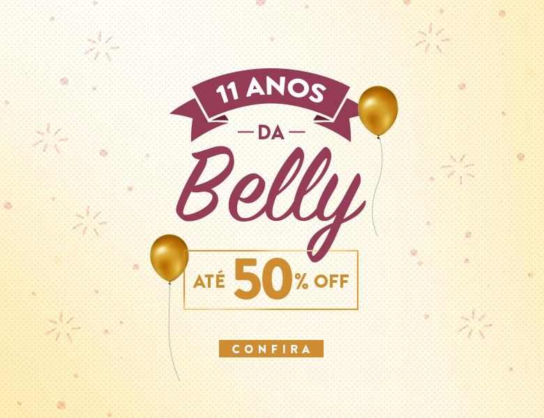 50% OFF - Aniversário Belly Home
