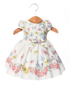 Vestido Helena borboleta menina