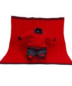 Kit maternidade menino vermelho