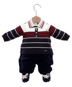 Macacão bebê tricot fabricio