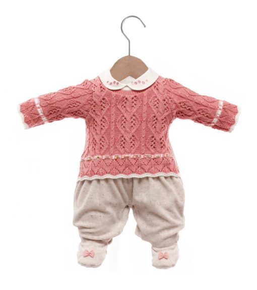 Macacão bebê tricot pietra