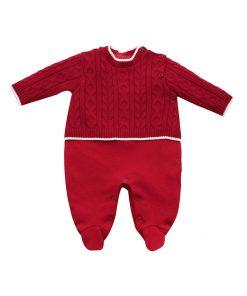 macacao tricot com tranças