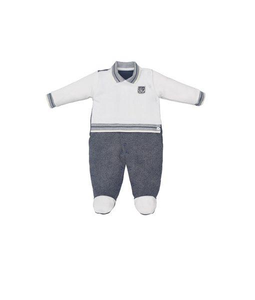 macacão sport malha tricot