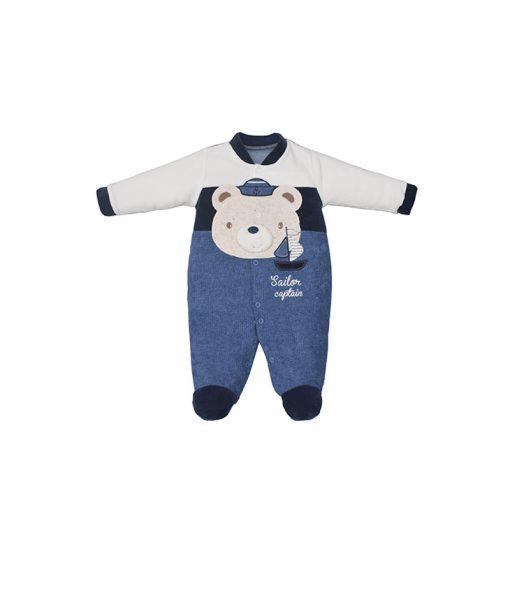 Macacão Urso marinheiro
