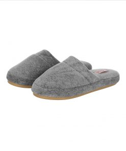 chinelo plush mescla
