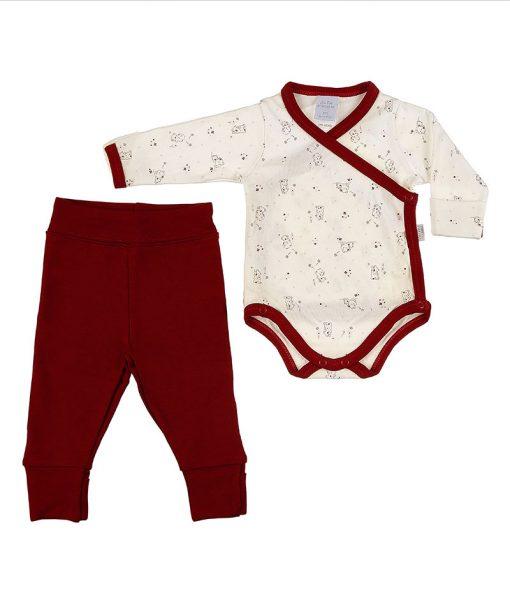 conjunto body e calça ursinhas