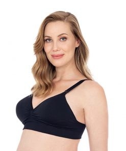 sutia amamentação maternity com bojo preto