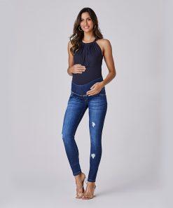 calça jeans skinny essential modern