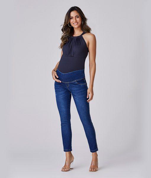 calça jeans skinny soft basic