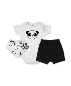 Conjunto Bandana Panda