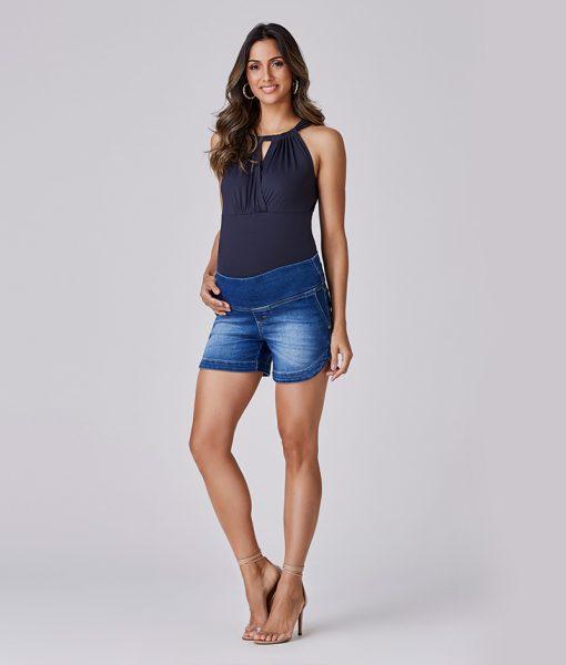 Shorts Jeans Denin Moletom