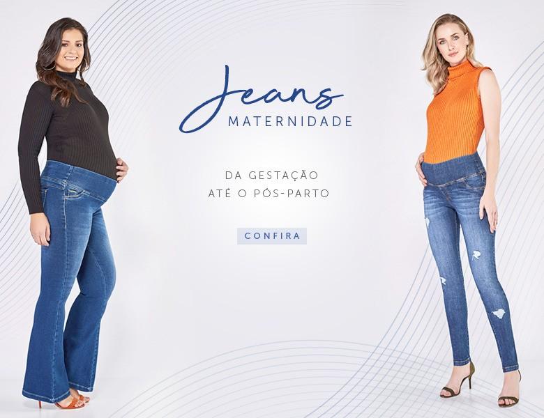 Jeans Maternidade da Gestação até o Pós-parto