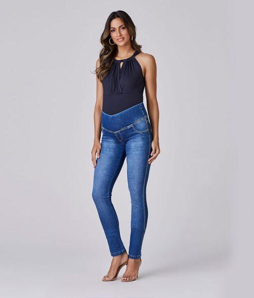 Calça Jeans Skinny Essential Power Elastic