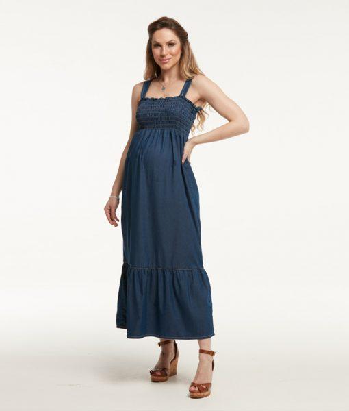 Vestido Jeans Lastex