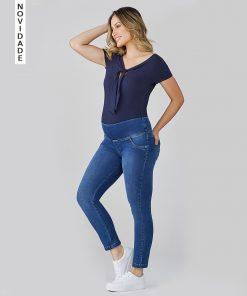 Calça Jeans Skinny soft Power Elastic