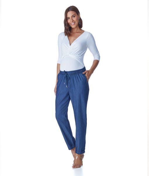 Calça Jeans Gestante Comfort