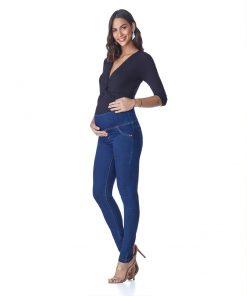 Calça Jeans Gestante Skinny Essential Basic
