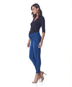 Calça Jeans Gestante skinny Soft Light