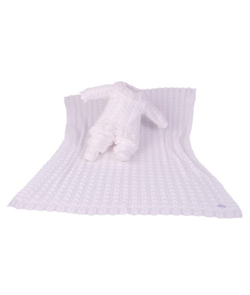 Kit Maternidade Plush e Tricot alice Off White