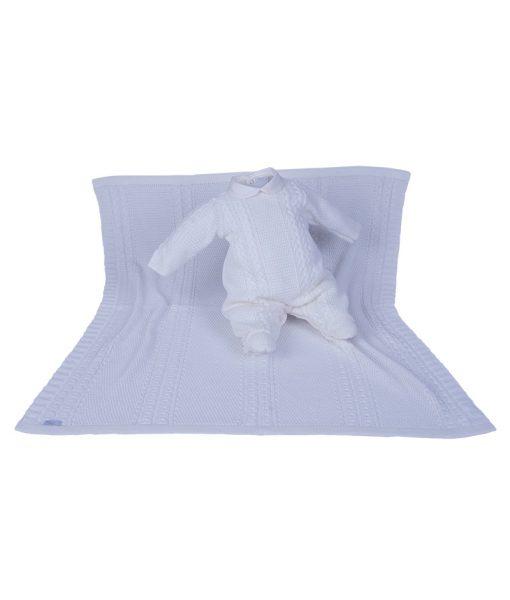 Kit Maternidade Plush e Tricot Off White