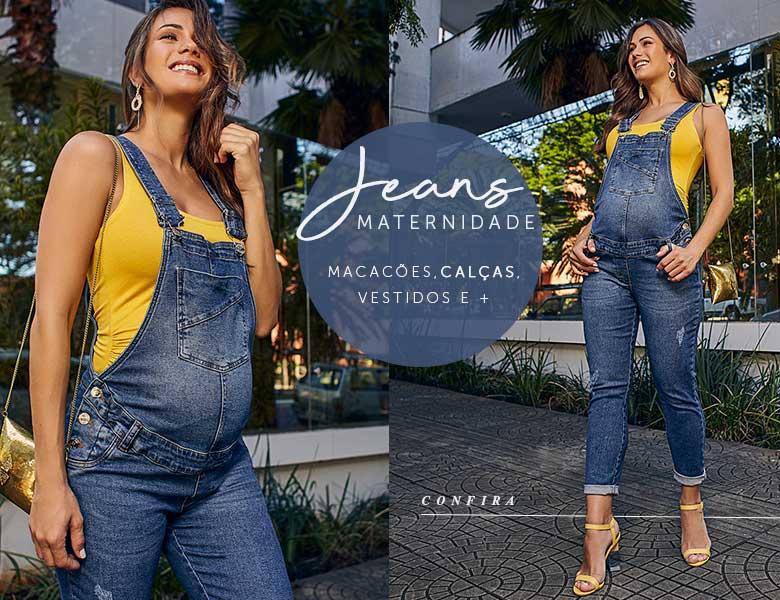moda gestante - Jeans para gestante