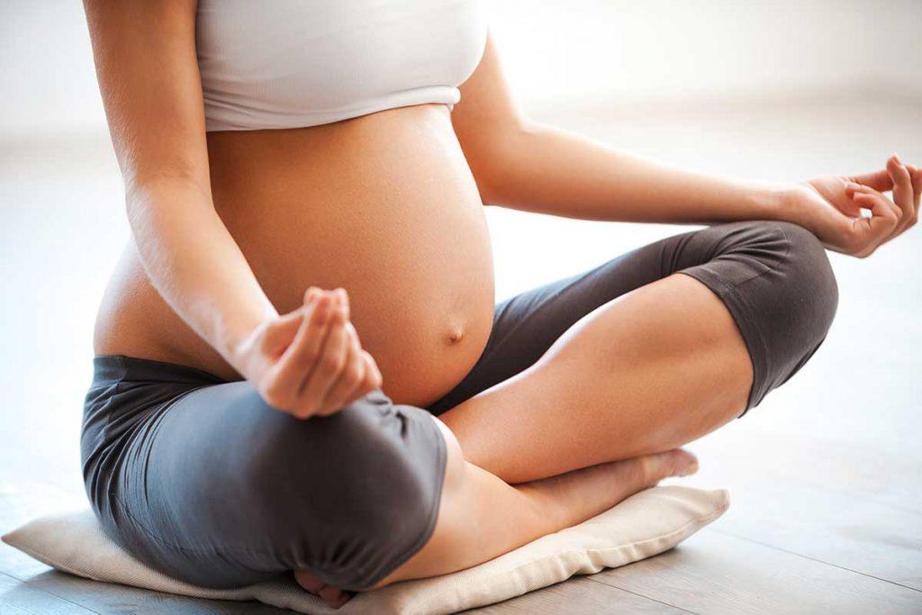Dicas para levar uma gravidez saudável e leve - Yoga