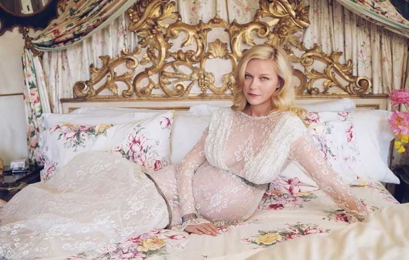 Grávidas 2021 - As mamães famosas do ano - Kirsten Dunst
