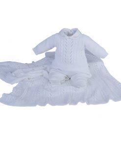 Kit Maternidade Malha e Tricot Off White
