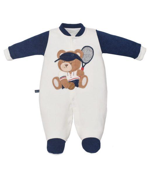 Macacão Plush Urso Tenista